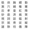 小学校6年間で学ぶ1006個の漢字の書き順をチェックして分かったこと