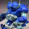 ウェーブ 装甲騎兵ボトムズ 1/35 ラビドリードッグ(PS版)製作記 基本塗装