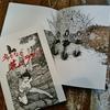 森口裕二ペン画作品集『名もなき花のララバイ』を刊行。