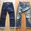 ステュディオダルチザン ダルチザンのジーンズで最もベーシックなストレートモデルSD101とSD103☆