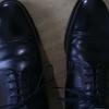 スコッチグレインの革靴、甲のサイズ調整の話