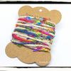 引き揃え糸☆糸巻きカード 3色