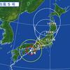 ノロノロの台風5号