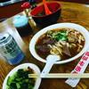 台北市青島東路「皇家黄牛肉麺」