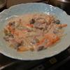幸運な病のレシピ( 879 )夜:白菜と鳥のクリーム煮、餃子