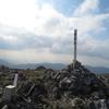 幾里林道+霊仙山 山頂~最高点