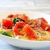 瑞々しい「トマトの冷製パスタ」和えるだけの簡単レシピ