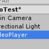UnityVR URLから360度動画を再生をする