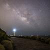 【天体撮影記 第22夜】 愛知県 渥美半島からの伊良湖灯台と天の川