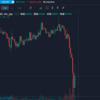 ビットコインBTC大暴落!!!仮想通貨市場困惑か!?どうなるのか今後は!?とにかく耐えるしかないか。