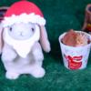 【ダブルチョコレート(ダーク&ミルク)】ローソン 12月3日(火)新発売、コンビニ スイーツ 食べてみた!【感想】