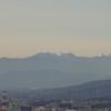 本城山から眺める南アルプス