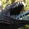 【大阪】ローラー滑り台が恐竜の口に吸いこまれる!外遊びが楽しい。寒さも吹っ飛ぶぞ!