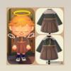 【あつ森】配布!不二咲千尋の制服をマイデザインで再現