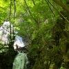 秋田県鹿角市・大湯滝めぐり『小根津戸の雄滝』『小根津戸の雌滝』