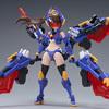 【ATKガール】1/12『A.T.K.GIRL TITAN(クワガタガール・タイタン)』プラモデル【御模道】より2021年5月発売予定♪