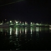 昨夜の気仙沼漁港