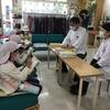 神町小学校の町たんけんのみなさんがやって来た!妻は入社2年になりました。