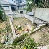 【自宅建築ログ】古家の解体、車庫上の納屋の上物がほぼ撤去完了