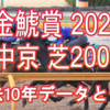 【金鯱賞 2021】過去10年データと予想