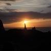 【隠岐旅行】隠岐諸島旅行2日目その2:西ノ島の絶景摩天崖でハイキングとローソク岩のサンセット