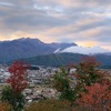 The first snow on the mountains for 2019/2020 - Omachi Nagano Japan