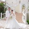 【結婚式当日レポ4】フラワーシャワー階段での撮影