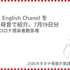 高橋ダン English Chanel インドのコロナ感染者数急増(7月19日)
