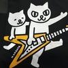 かわいいギターねこTシャツ購入! ART SHOP KAGOYA
