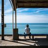 愛媛が誇る絶景。下灘駅から見える景色は、誰かに見せたくなる絶景だった。