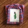 【着画あり】タックロングスカート「TOWNのパターンアレンジでつくる大人服」作りました