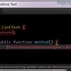 WindowsでPHPMDやPHPCSを入れてSublimeLinterでLintする