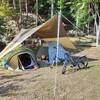 ポップアップテントで簡単設営&撤収のキャンプはいかがですか?