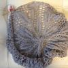 糸のきんしょう 10/2綿薄グレーで編むテーブルクロス 3