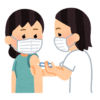 職域接種を受けました。