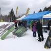 鰺ヶ沢スキー場でスノーボード試乗会