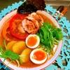 パプリカと水菜の旨辛カムジャ麺