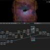 【Blender】Blender2.8で宇宙っぽいものをノードだけで作成する