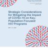 『キーポピュレーションに対するCOVID-19の影響を軽減する』 エイズと社会ウェブ版483
