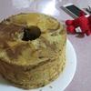 酵母のシフォンケーキ