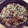 【レシピ15】1歳の娘と食べる「鶏挽肉とひじきの炊き込みごはん」