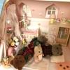 お家の変化と人形の変化