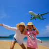 日曜日はナイヤンビーチで飛行機見学♪