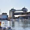 沼津港の「魚河岸まる天」で昼食