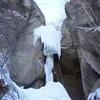 層雲峡 バニシングムーン&早乙女の滝 アイスクライミング