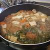 幸運な病のレシピ( 2140 )朝 :切り昆布煮しめ、味噌汁、マユのご飯