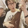 薩摩琵琶、さわーる。