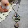 2羽の小鳥のネックレス