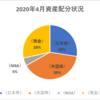 【資産状況】【配当の軌跡】2020年4月の総資産は334万円