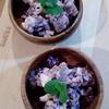 紫芋の玄米甘酒和え